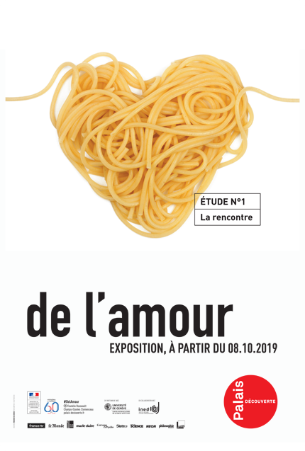 'About Love' exhibition at the Palais de la découverte