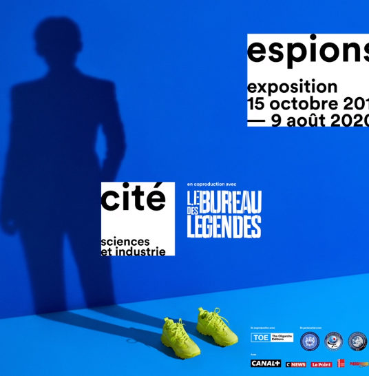 'Spies' exhibition at the Cité des sciences