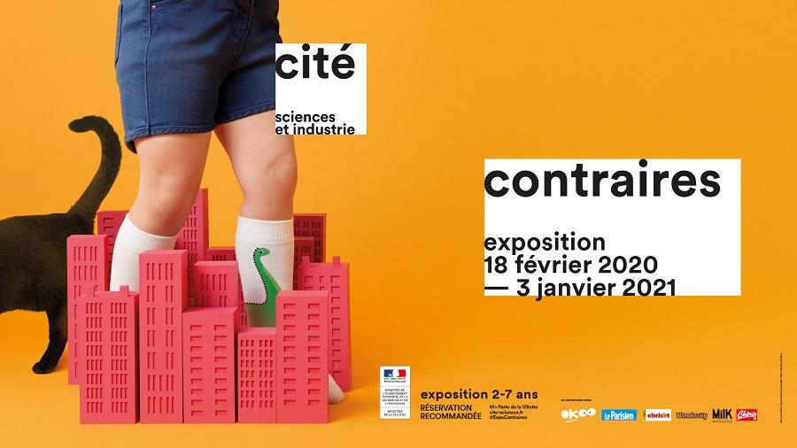 Exposition Contraires à la Cité des sciences et de l'industrie